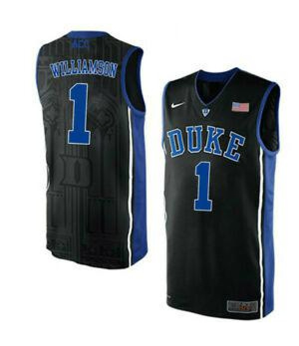 CFB3-Camisetas Zion Williamson Duke Blue Devils [B...